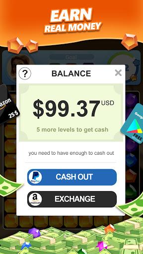 Jewel Blast & Diamond Crush Puzzle Game to BIG WIN android2mod screenshots 3
