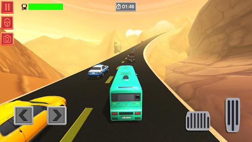 Télécharger Mountain Bus Racing Online - Hill Climb Racing APK MOD (Astuce) screenshots 1