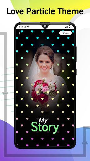 Love.ly Video Status Maker Musical Photo Slideshow Apkfinish screenshots 4