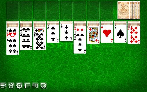 spider solitaire screenshot 1