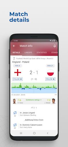Foto do SofaScore - Euro soccer scores & schedule 2021