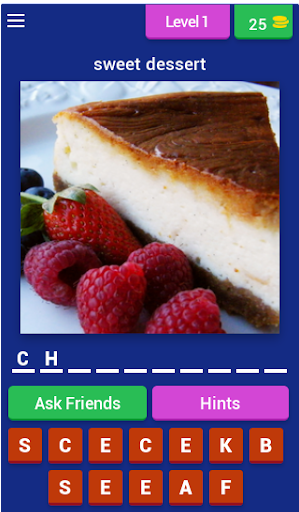 Foodie Dessert Quiz (Food Quiz Game)  screenshots 1
