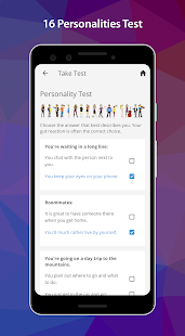PersonalityMatch - Personality Test and Matching Screenshot