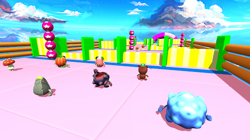 Race Falling 3D Run Guys KnockOut Game Dudes 1.2 screenshots 2