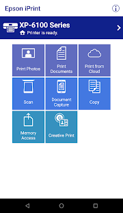 Epson iPrint Screenshot