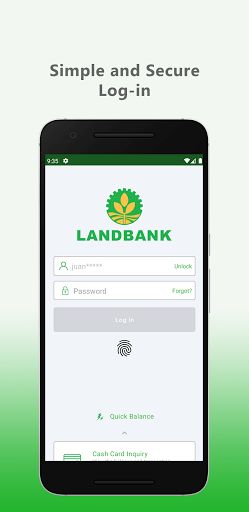 LANDBANK Mobile Banking  screenshots 1