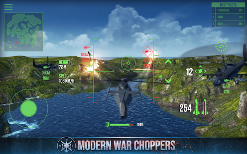 Modern War Choppers: Kriegsspiel-Shooter (PvP) Screenshot