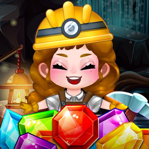 New Fantasy Jewels Adventure: Puzzle Land