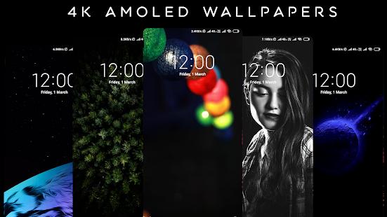 4K AMOLED Wallpapers - Live Wallpaper Changer screenshots 9