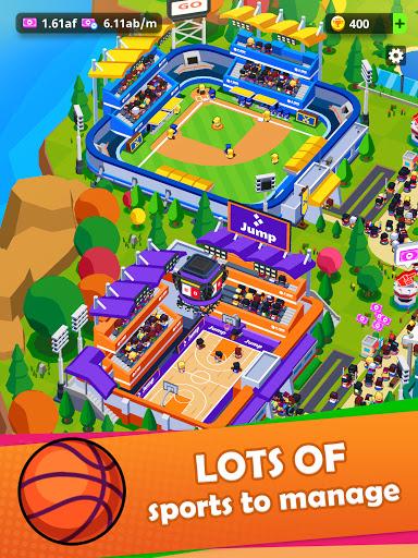 Sports City Tycoon - Idle Sports Games Simulator  screenshots 10