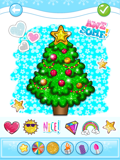 Christmas Coloring Game - Learn Colors  screenshots 12