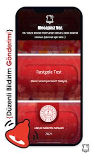 2021 Adaylık Kaldırma Sınavı (AKS) Apk Download Free 4