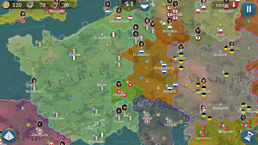 European War 6: 1804 - Napoleon Strategy Game 1.2.28 screenshots 1