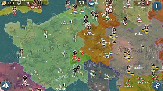 European War 6: 1804 MOD Apk 1.2.28 (Free Shopping) 1