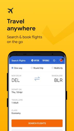 Cleartrip - Flights, Hotels, Train Booking App screenshots 2