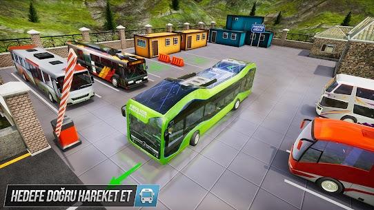 Sürüş Otobüs Park Etme Oyunu 2020: Otobüs oyunları 4