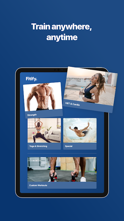 Fitify: Workout Routines & Training Plans poster 9