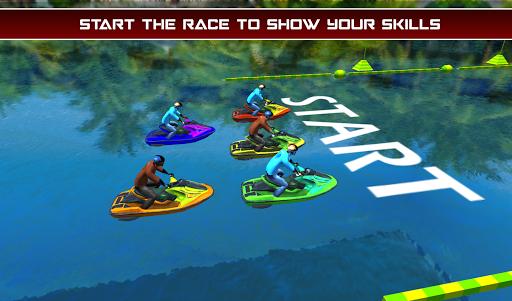 Power Boat Jet Ski Simulator: Water Surfer 3D apktram screenshots 8