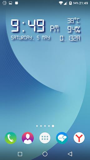 Mega Clock ● Launcher ● Weather ● Clean ● Rotator  screenshots 1
