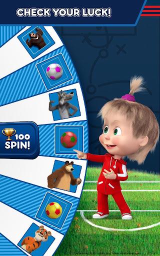 Masha and the Bear: Football Games for kids Apkfinish screenshots 12