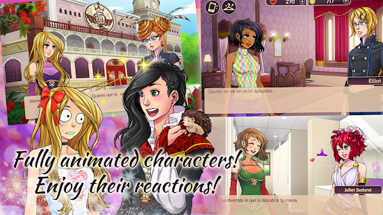 Chan Prin Gaelyka – Romantic Visual Novel Screenshot