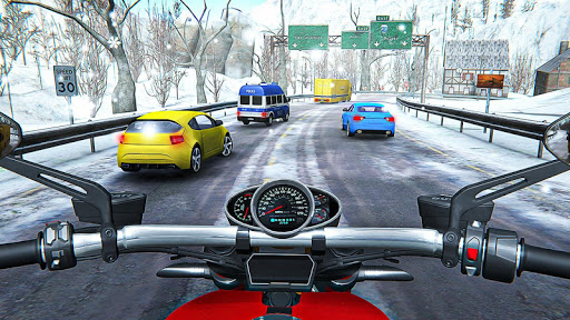 Racing In Moto Traffic Stunt Race 1.20 screenshots 2