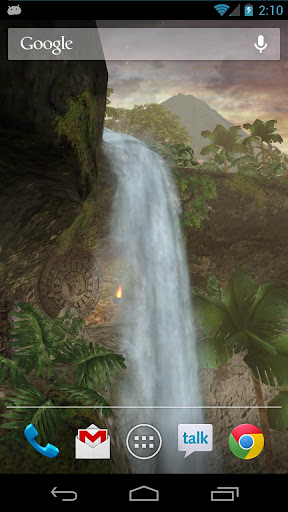 Jungle Waterfall LiveWallpaper For PC Windows (7, 8, 10, 10X) & Mac Computer Image Number- 5