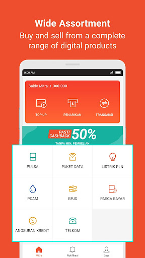 Mitra Shopee: Sell Top up, Game Voucher and Bills  Screenshots 3