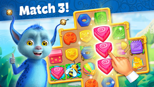 jingle mansion-match 3 adventure story games free screenshot 3