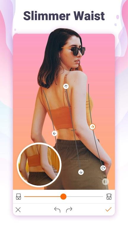 Hotune - Face&body editor&body enhancer&face app poster 1