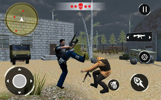 Swat FPS Force: Free Fire Gun Shooting apktreat screenshots 1