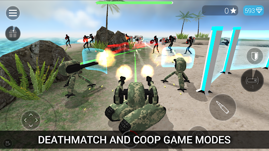 CyberSphere: SciFi Third Person Shooter Mod Apk (Unlocked) 2.14.32 3