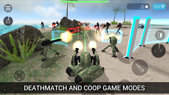 CyberSphere: SciFi Third Person Shooter Mod Apk (Unlocked) 3