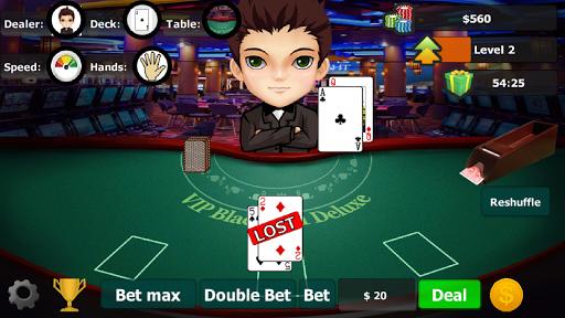 vip blackjack 21 deluxe screenshot 2