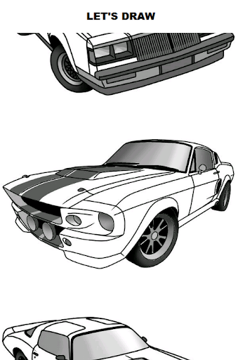Draw Cars: Muscle  screenshots 1