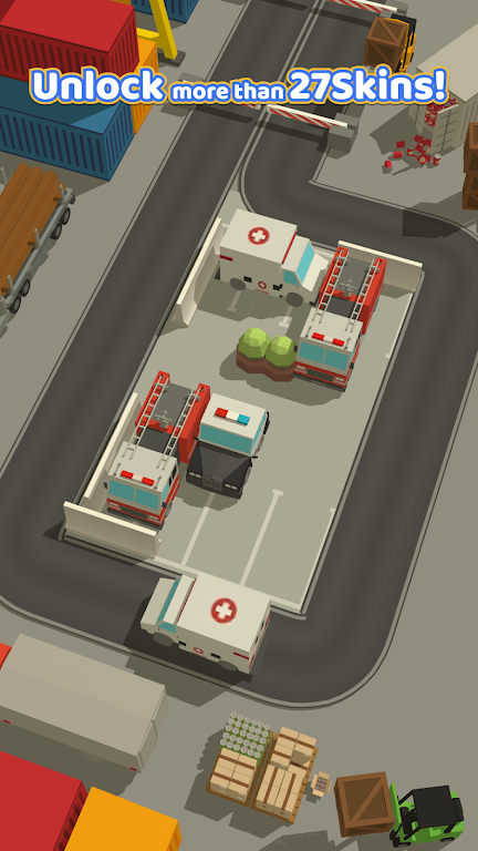Parking Jam 3D poster 2