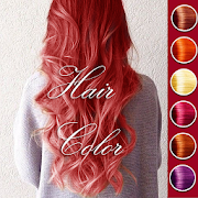 Hair Color Changer Real  Icon
