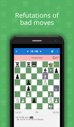 Mate in 3-4 (Chess Puzzles)  screenshots 3