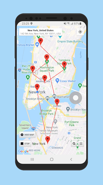 Location Changer - Fake GPS Location with Joystick poster 1
