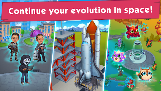 Game of Evolution: Idle Clicker & Merge Life 3