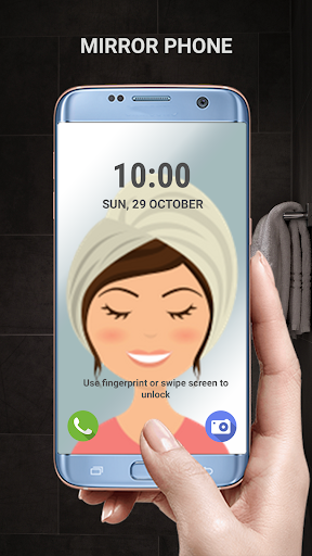Transparent phone. Livecam Wallpaper 3.0 Screenshots 2