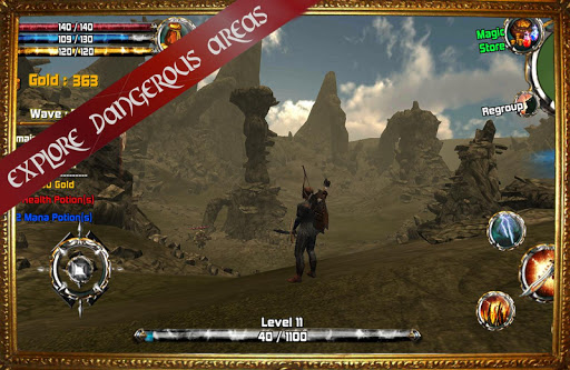 Kingdom Quest Crimson Warden 3D RPG screenshots 8