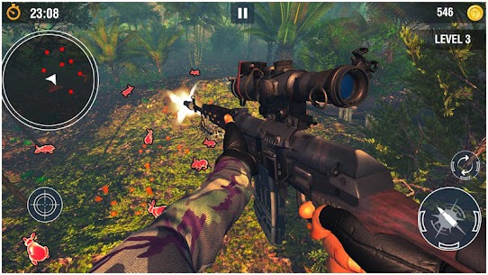 Wicked Rabbit Hunting Sniper Free Shooting Games Hack Cheats (iOS & Android) 4