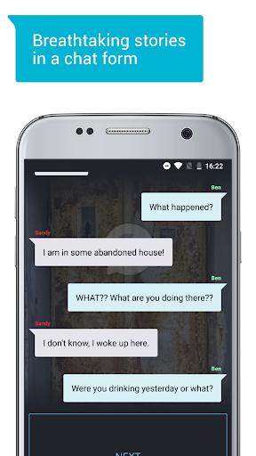 Catch u2014 Thrilling Chat Stories screenshots 1