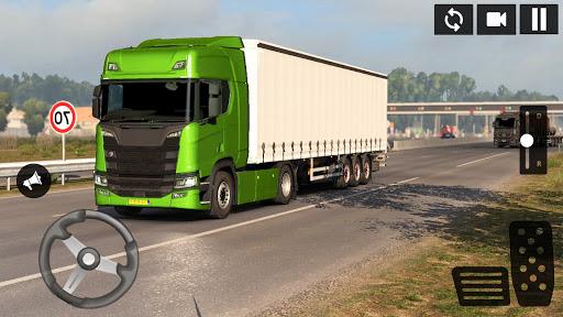 American Truck Driving Simulator: Cargo Truck Game  screenshots 1