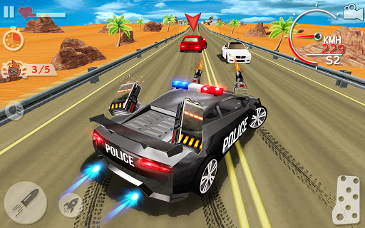 Police Highway Chase Racing Games - Free Car Games  screenshots 14