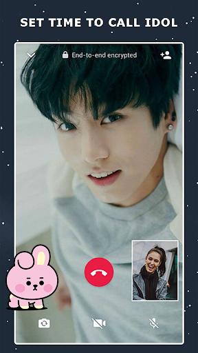 Fake Video Call : Bts Call You 1.1.4 screenshots 2