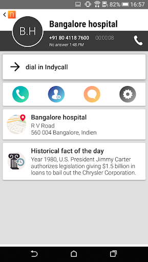 IndyCall - Free calls to India 1.6.2 Screenshots 3