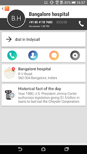 IndyCall - Free calls to India Screenshot