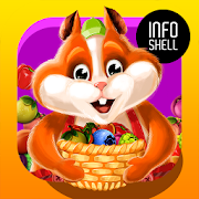 Fruit Hamsters–Farm of Hamsters: Match 3 game Free